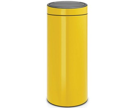 פח טאץ ברבנטיה 30 ליטר צהוב
