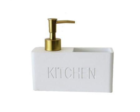 דיספנסר מלבני + כיס לבן Kitchen